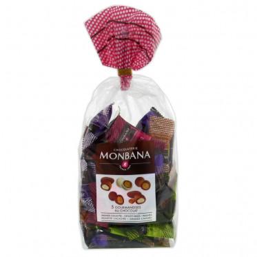 Chocolat Monbana : 5 Confiseries Chocolats - 50 pièces