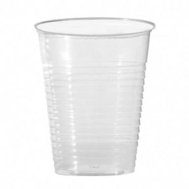 Gobelet à eau en Plastique Transparent 20 cl - par 100