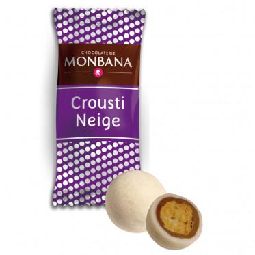 Chocolat en Gros : Monbana Crousti-Neige - 200 pièces