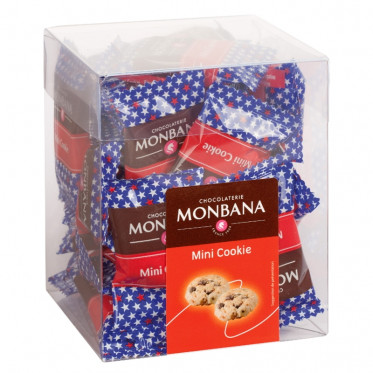 Biscuit : Monbana Mini Box Mini Cookies - 30 pièces