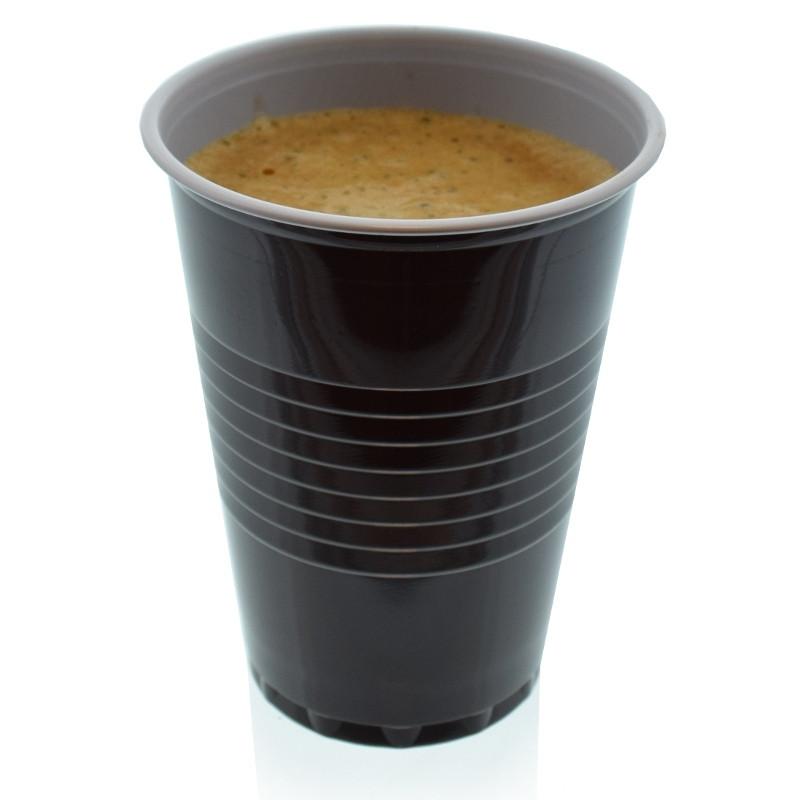 gobelet distributeur automatique en plastique bicolore 18 cl par 100 coffee webstore. Black Bedroom Furniture Sets. Home Design Ideas