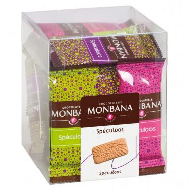 Biscuit : Monbana Mini Box Speculoos - 26 pièces