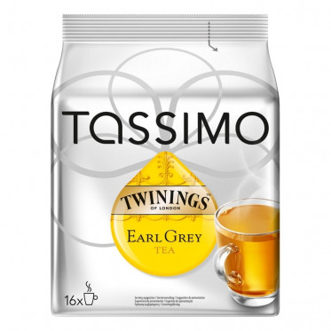 Capsule Tassimo Thé Twinings Earl Grey - 16 T-Discs