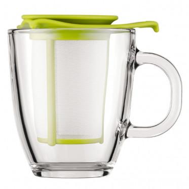 Tasse Bodum : Yo-Yo Set Mug avec Filtre Vert 30 cl - à l'unité