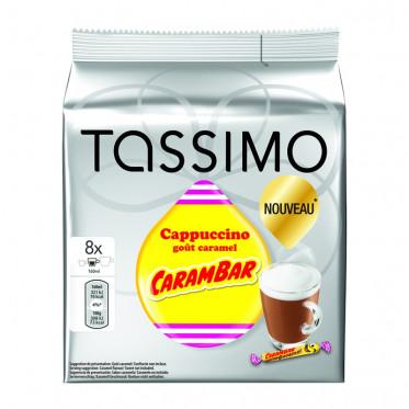 Capsule Tassimo Cappuccino goût Carambar - 8 boissons