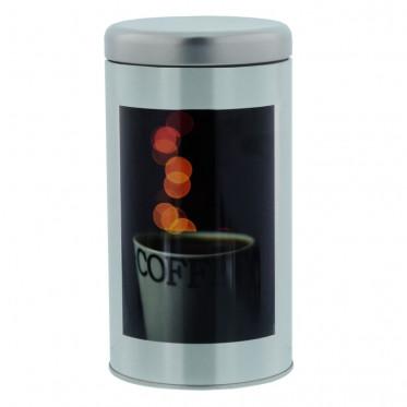 """Boite de conservation pour Café """"Instant Café"""" : Décor Arôme - 500 gr"""