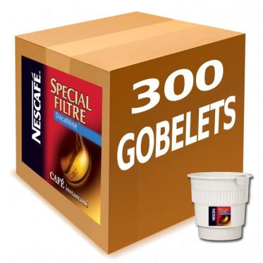Gobelet Pré-dosé au Carton Nescafé Café Décaféiné - 300 boissons