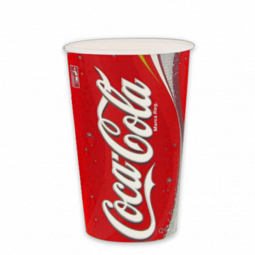 Gobelet en Carton Coca Cola 40 cl par 100