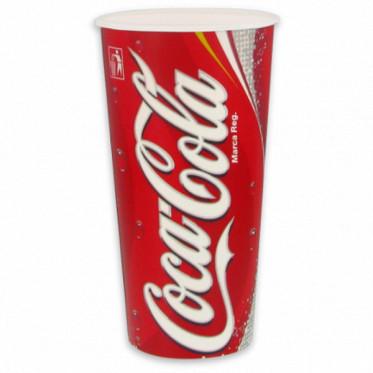Gobelet en Carton Coca Cola 50 cl par 100