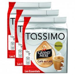 Capsule Tassimo Grand Mère Café au Lait 3 paquets