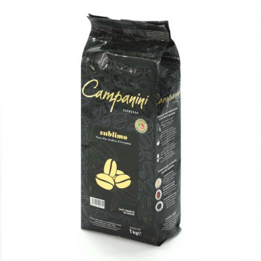 Café en Grains Campanini Sublimo - 1 Kg