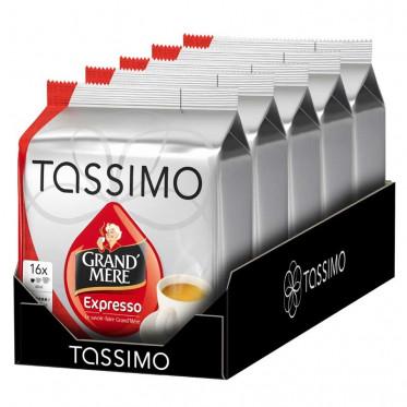 Capsule Tassimo Grand'Mère Expresso 5 paquets - 80 T-Discs