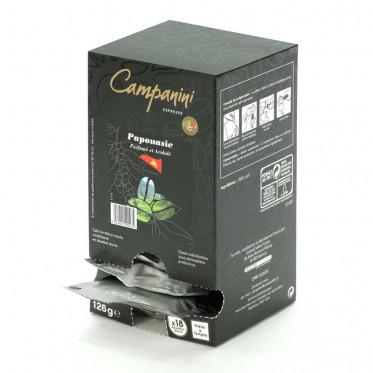 Dosette ESE Campanini Espresso Papouasie x 18