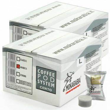 Capsules Lavazza Espresso Point Compatible Mokarabia Arabica 200 Capsules