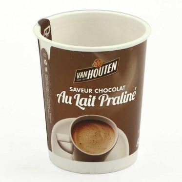 Gobelet Pré-dosé Premium Van Houten Saveur Chocolat au lait praliné - 10 boissons