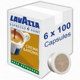 Capsule Lavazza Espresso Point Crema Aroma Gran Espresso x 600