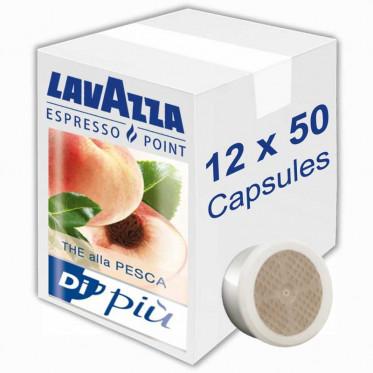 Capsule Lavazza Espresso Point Thé alla Pesca - 12 boites - 600 capsules