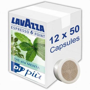 Capsule Lavazza Espresso Point Thé alla Menta - 12 boites - 600 capsules