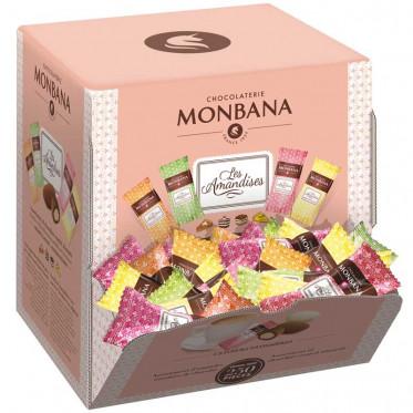 Boite Distributrice Monbana : Les Amandises - 250 pièces