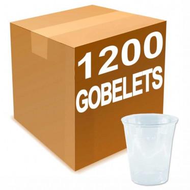 Gobelet en Gros en Plastique Transparent 30 cl - par 1200