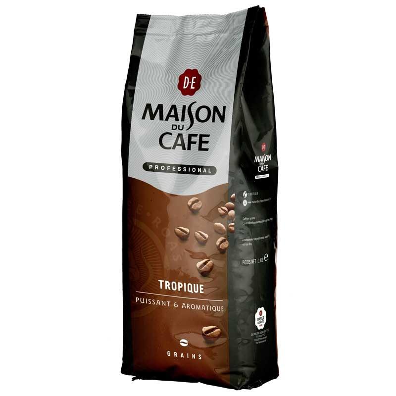 Caf en grains maison du caf pro tropique 1 kg for Maison du cafe andrezieux