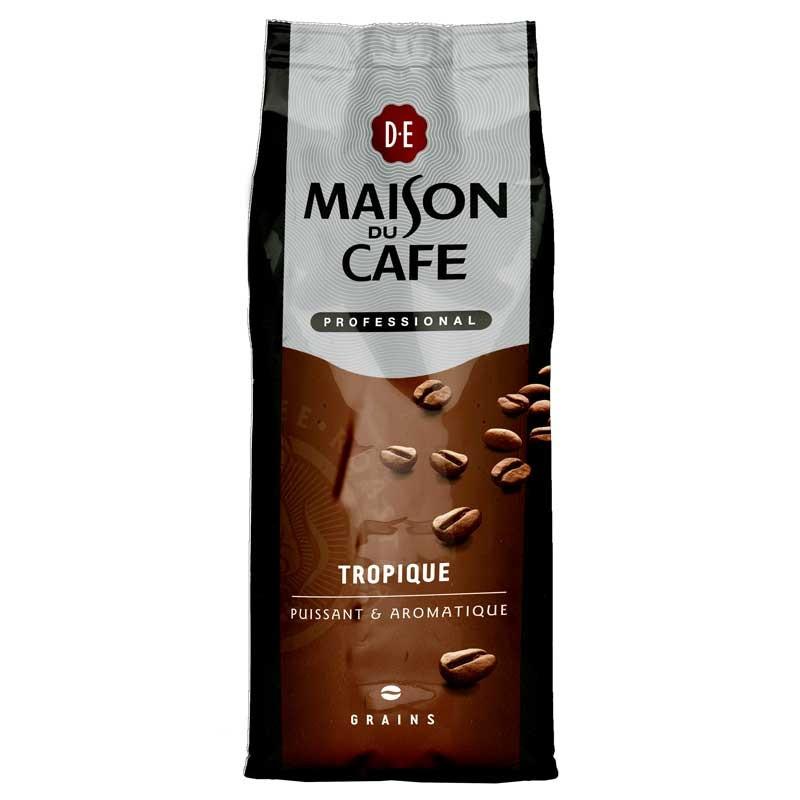 Caf en grains maison du caf pro tropique 1 kg maison for Maison du cafe andrezieux