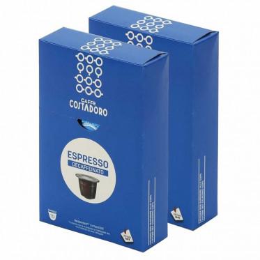 Capsule Nespresso Compatible Costadoro Espresso Décaféinato 2 boites - 20 capsules