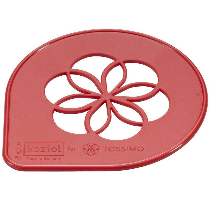 Accessoires tassimo pochoir de d coration tassimo for Accessoire deco rouge