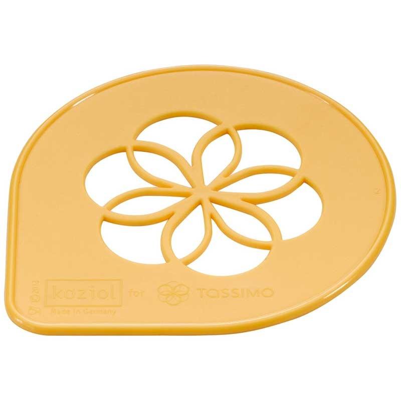 Accessoires tassimo pochoir de d coration tassimo for Accessoire deco jaune