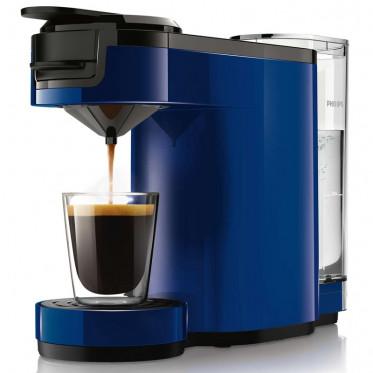 Machine à Dosettes Souples Senseo Up Bleu Cobalt : Philips HD7880/71