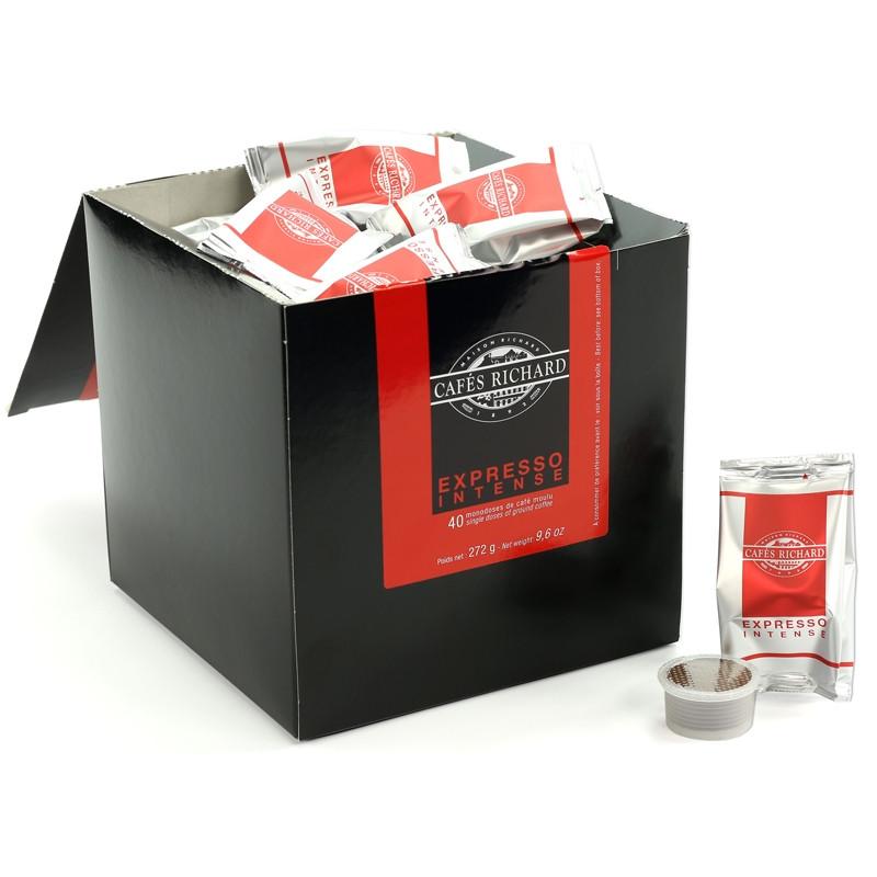capsule caf s richard expresso intense 40 capsules. Black Bedroom Furniture Sets. Home Design Ideas