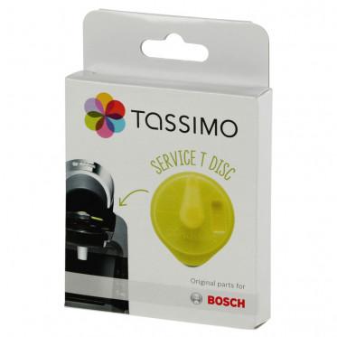 Accessoire Tassimo : T-Disc Jaune Tassimo pour détartrage : Vivy, Amia, Suny, Fidélia