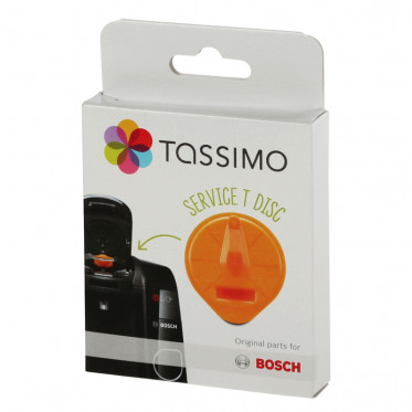 Accessoires Tassimo : T-Discs Orange Tassimo pour détartrage : Joy, Charmy