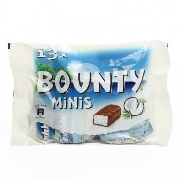 Barre Chocolatée : Sachet de Minis Bounty - 13 pièces