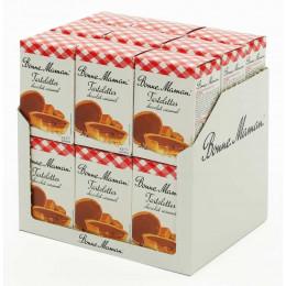Biscuit en gros Bonne Maman : Tartelettes Chocolat Caramel - 18 boites - 54 pièces