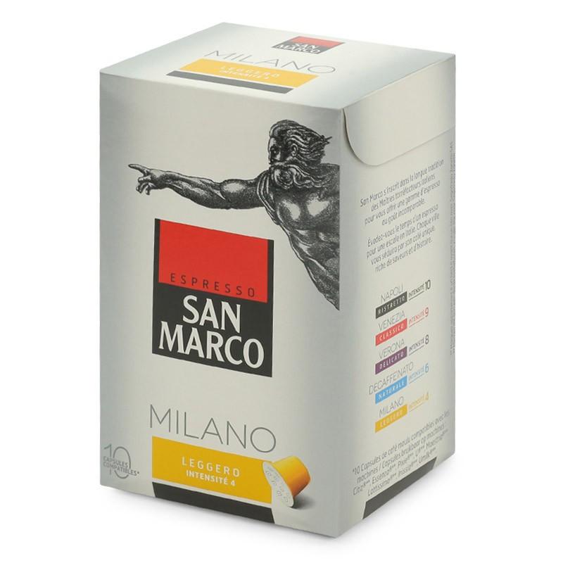 capsule nespresso compatible san marco milano leggero. Black Bedroom Furniture Sets. Home Design Ideas