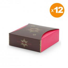 12 Ballotins de 180gr de 9 Recettes Chocolat Noir et Lait