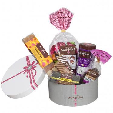 Chocolat Monbana : La Corbeille Chapeau - 770 gr