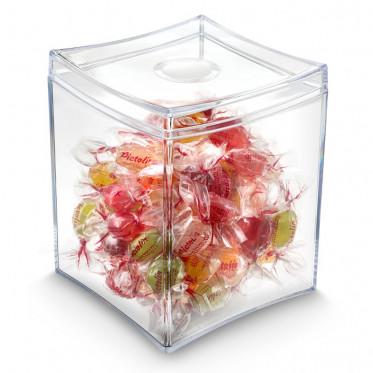 Sweet Box Transparente– Boite à capsule café, boîte à bonbons