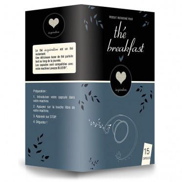 Capsule Lavazza Blue Compatible Inspiration Thé Breakfast - 15 capsules