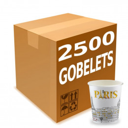 Gobelets Distributeur Automatique en Carton 15 cl -  French Collection Paris - par 2500
