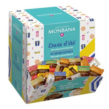 Boite Distributrice Monbana : Collection Envie d'été - 200 pièces