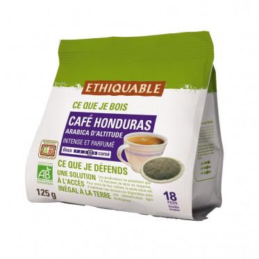 Dosette Souple Éthiquable Bio Honduras - 18 Pads