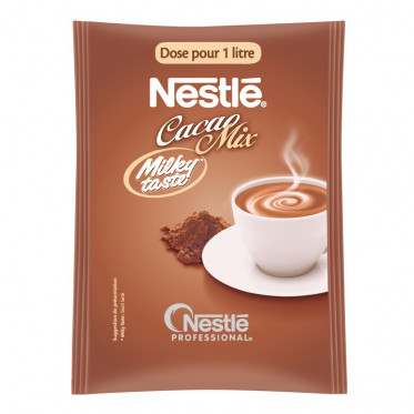 Chocolat Chaud en Dosette Individuelle Caco Milky Taste Nestlé® - 50 doses-litre