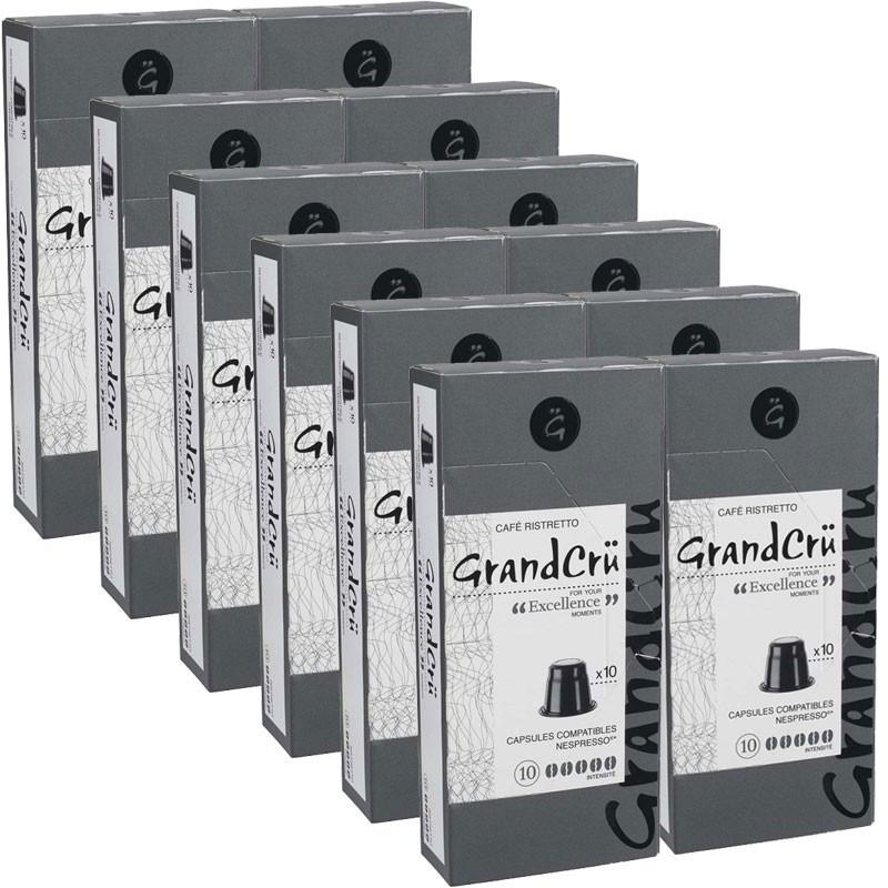 capsules nespresso compatibles grand excellence 12 paquets 120 capsules. Black Bedroom Furniture Sets. Home Design Ideas