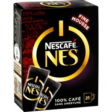 Café Soluble Nescafé® Nes® - 25 sticks de 2 gr