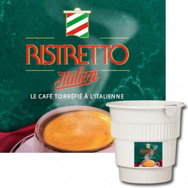 Gobelet Pré-dosé Café Nescafé® Ristretto Non Sucré - 20 boissons
