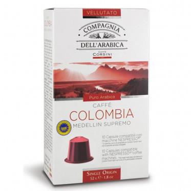 Capsule Nespresso Compatible Compagnia Dell'Arabica Colombia - 10 capsules