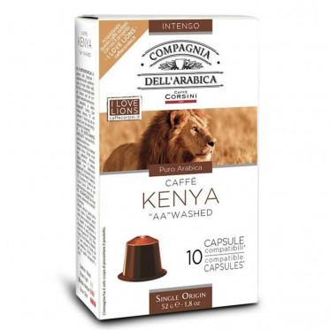 Capsule Nespresso Compatible Compagnia Dell'Arabica Kenya - 10 capsules