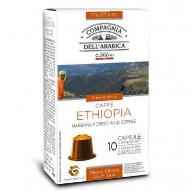capsule nespresso compatible cie dell 39 arabica ethiopie. Black Bedroom Furniture Sets. Home Design Ideas